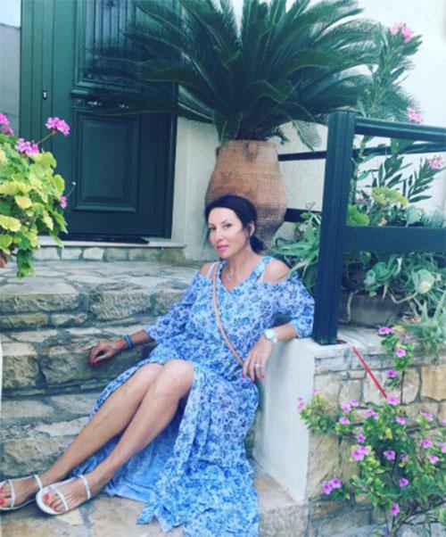 Алика Смехова наслаждается отдыхом в Греции