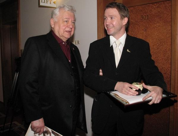 Олег Табаков и Евгений Миронов