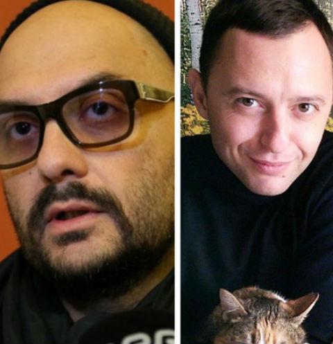 Кирилл Серебренников и Рома Зверь