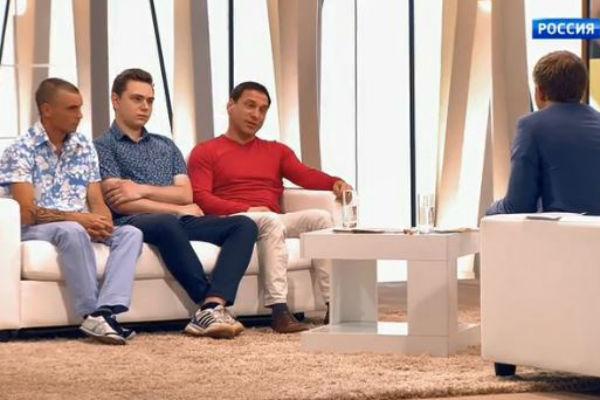 Николай с сыновьями Андреем и Александром