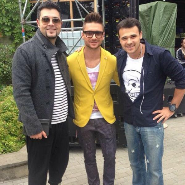 Алексей Чумаков, Сергей Лазарев и Эмин
