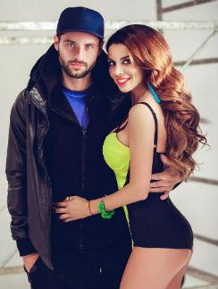 Анна Седокова с возлюбленным Сергеем Гуманом