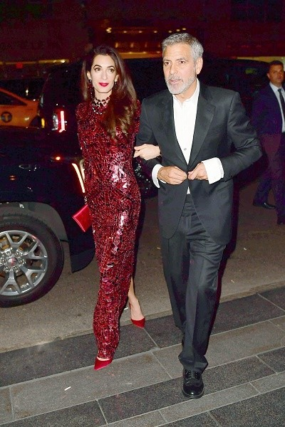 Джордж и Амаль Клуни снова вместе