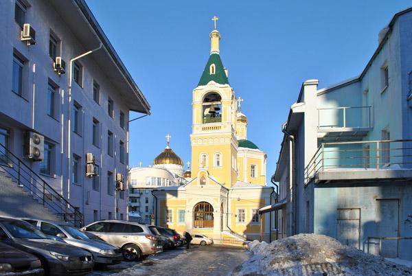 Храм Ильи Пророка в Москве
