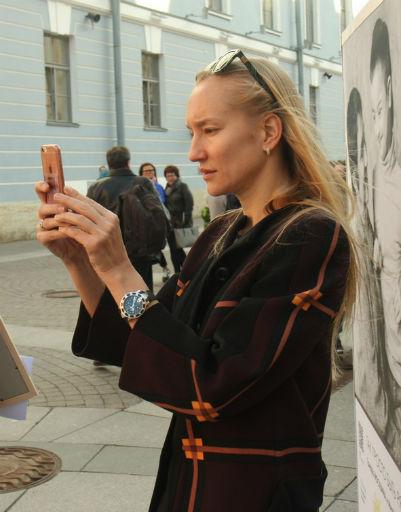 В числе почетных гостей была восходящая звезда кинематографа Полина Сидихина