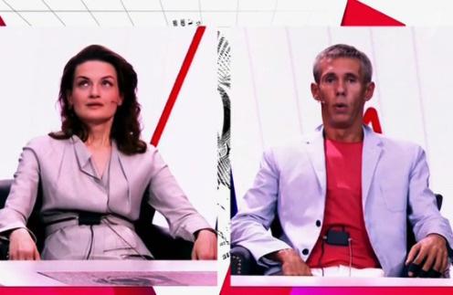 Юлия Юдинцева и Алексей Панин столкнулись лицом к лицу на Первом канале