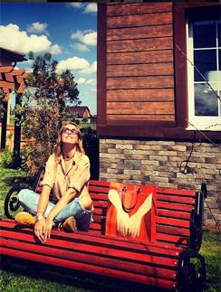 Ксения Собчак в поселке American dream