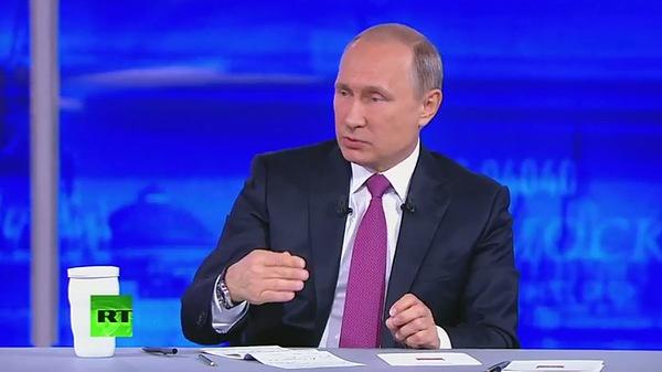 Традиционное общение Владимира Путина с россиянами продолжалось около четырех часов