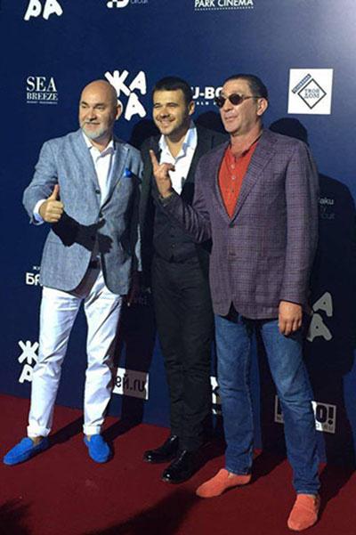 Григорий Лепс вместе с Эмином Агаларовым и Сергеем Кожевниковым стал организаторам фестиваля «Жаря» в Баку