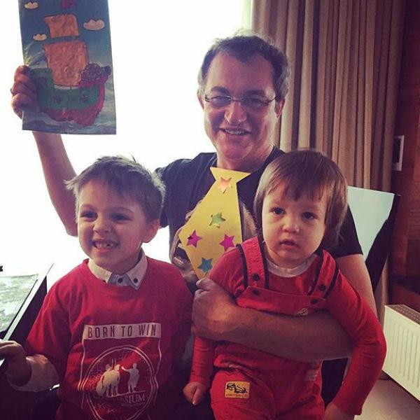Дмитрий Дибров обожает свою семью