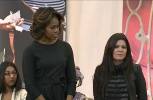 Мишель Обама и Руслана