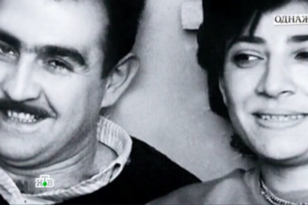 Нани Брегвадзе и ее муж Мераб Мамаладзе