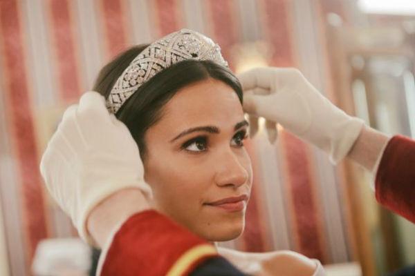 Создатели фильма постарались воссоздать королевскую свадьбу