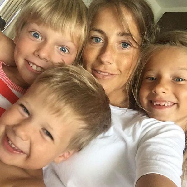 После разрыва с Аршавиным Барановская воспитывает троих детей одна
