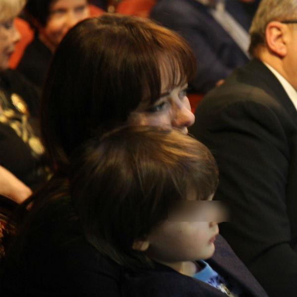 Марина Александрова с сыном Андреем