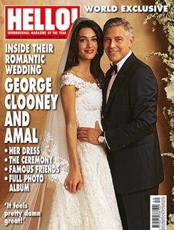 Первое официальное фото со свадьбы Джорджа Клуни и Амаль Аламуддин