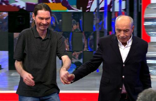 Вадим Никитин долго не отпускал руку своего знаменитого отца