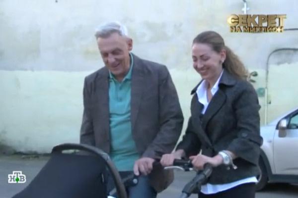 Прогулка с детьми Александра и Эсаны