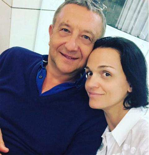Певица Слава и ее возлюбленный Анатолий Данилицкий