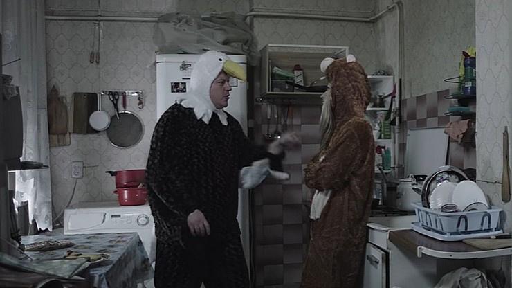 Герои программы выясняют отношения на кухне