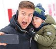 Денис Косяков поставил сына на коньки
