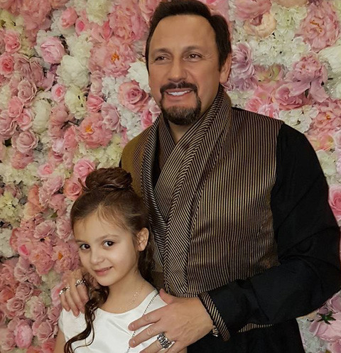 Стас Михайлов с дочерью Иванкой