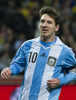 Лионель Месси стал самым дорогим футболистом