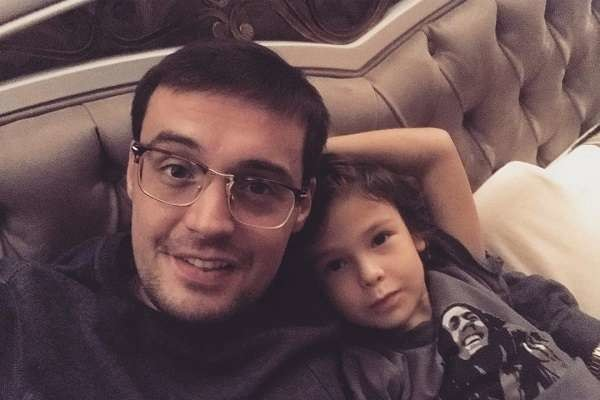 Гуф с сыном Сэмом