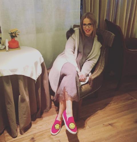Ксения Собчак жалуется на повышенный аппетит