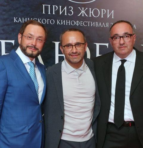 Глеб Фетисов, Андрей Звягинцев и Александр Роднянский