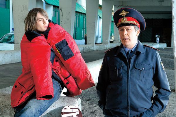 С Михаилом Ефремовым на съемках фильма «Индиго», 6 мая 2007 года