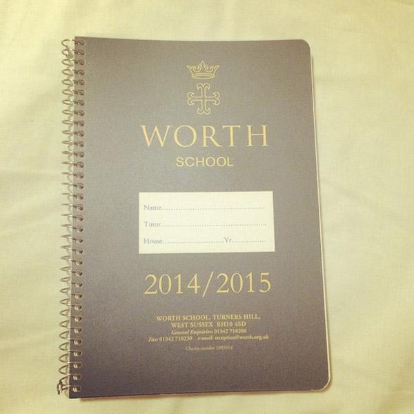 Теперь у Даниила будет новый школьный дневник