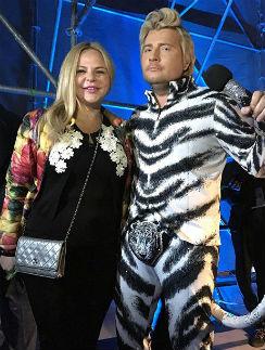 Николай Басков и Майя Серикова