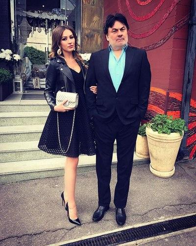 Александр Серов с 24-летней дочерью Мишель, рожденной в браке с Еленой Стебеневой