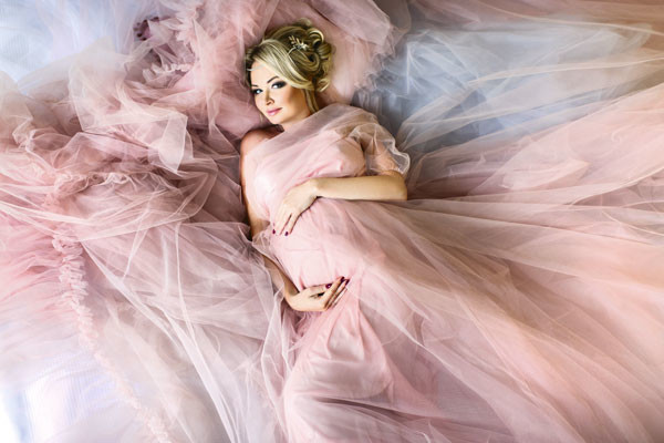 «Набрала за беременность 10 кг, – признается Даша. – Вроде немного, но такое чувство, что половина из них – это мои щеки»