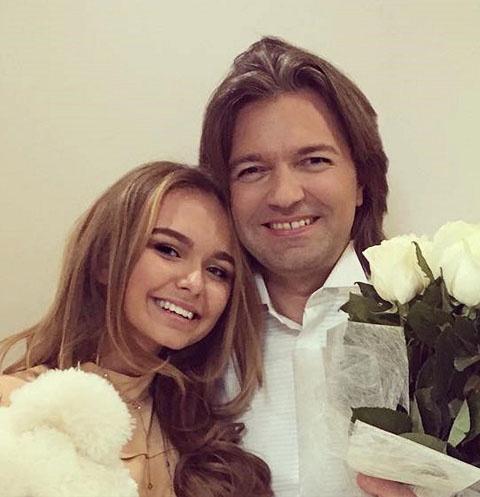 Дмитрий Маликов с дочерью Стефанией