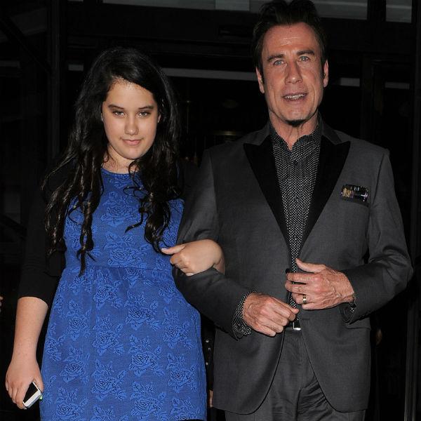 Джон с дочерью Эллой Блю