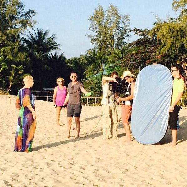 Снимаем на пляже 6 фотография