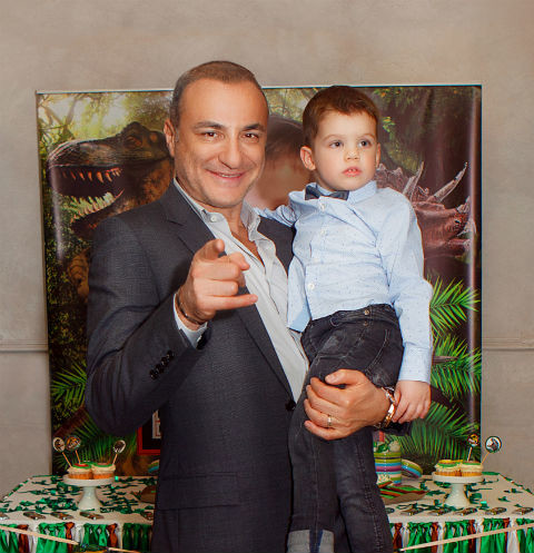 Михаил Турецкий с сыном