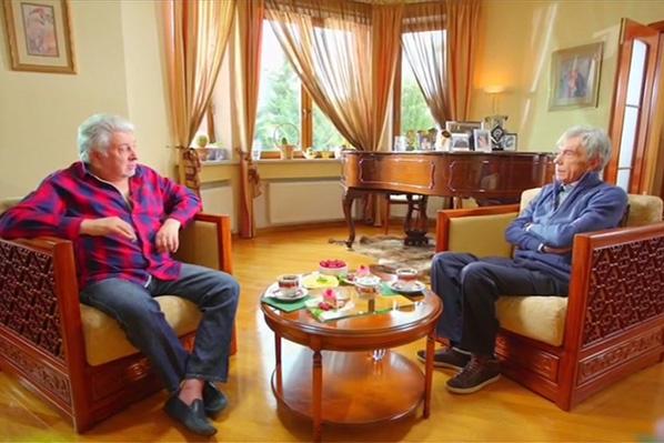 Вячеслав Добрынин и Юрий Николаев дружат много лет
