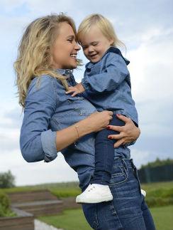 Наталья Ионова с дочкой Верой