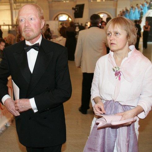 Альберт Филозов с женой, Натальей Стоцкой