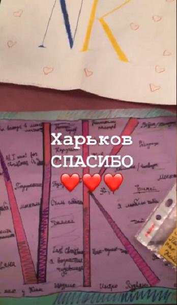 Несмотря на инцидент, Настя Каменских поблагодарила поклонников из Харькова за концерт
