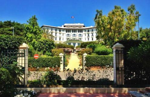 Легендарный «Гранд отель Кап- Ферра» построен в 1908 году
