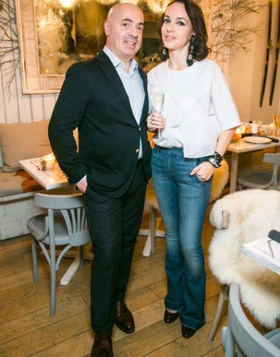 Михаил Грушевский с супругой Евгенией