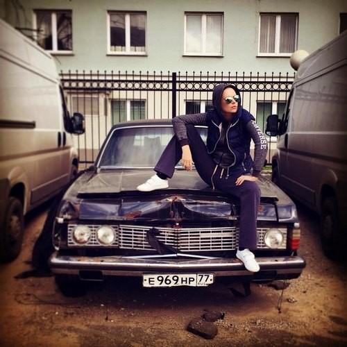 Ирина Безрукова в неожиданном образе хулиганки