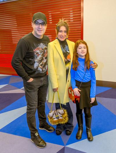 Гарик и Жанна со старшей дочерью Жасмин