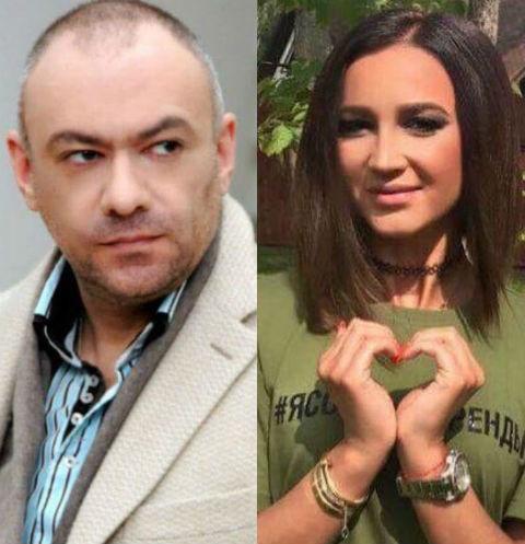 Евгений Кобылянский и Ольга Бузова
