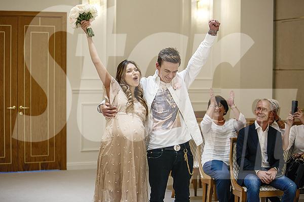 Влад и Регина стали мужем и женой 25 октября