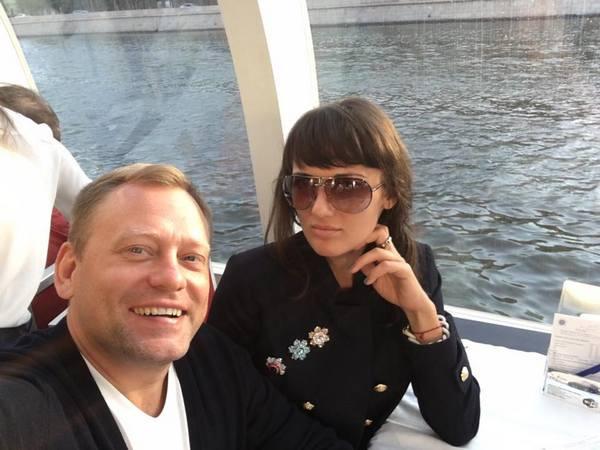 Сергей Ткаченко с девушкой Марией
